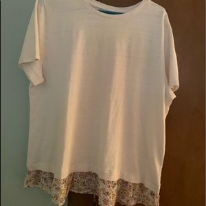 LOFT Short Sleeve Top L